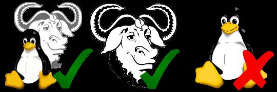 Il faut dire GNU/Linux et pas Linux tout court