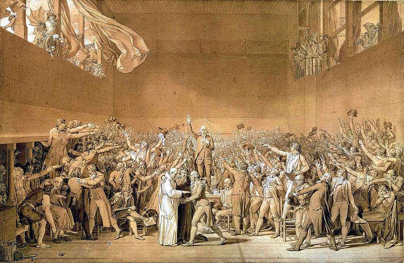 Le serment du jeu de paume (wikimedia)