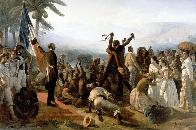 L'abolition de l'esclavage dans les colonies françaises François-Auguste Biard (1799–1882)