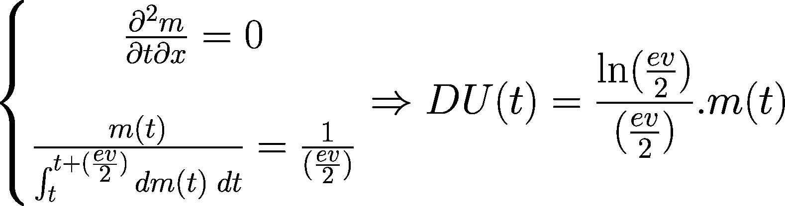 équations fondamentales de la TRM