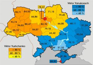 Ukraine élections 2004