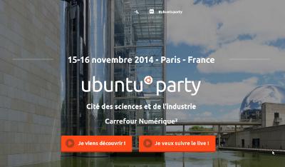 Ubuntu Party 15 & 16 Novembre 2014