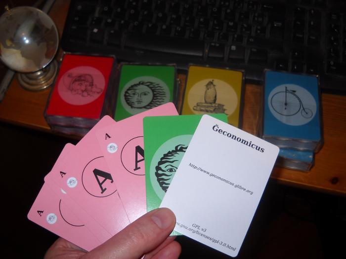 Cartes du jeu libre Ğeconomicus
