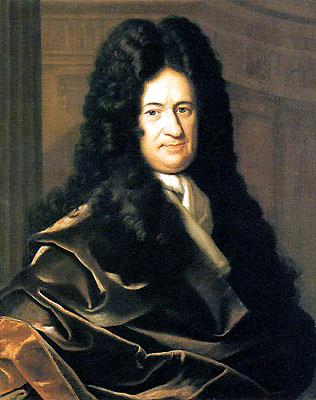 Gottfried Wilhelm von Leibniz (1746 - 1716) - wikimedia