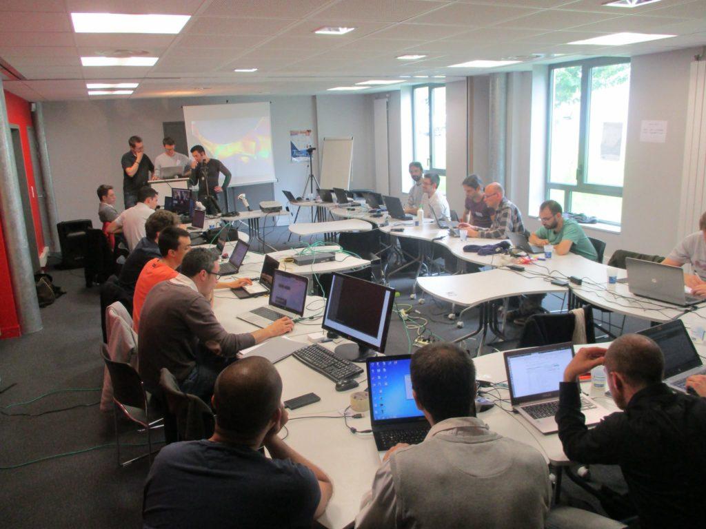 Coding party aux RML7, réservé aux informaticiens contributeurs