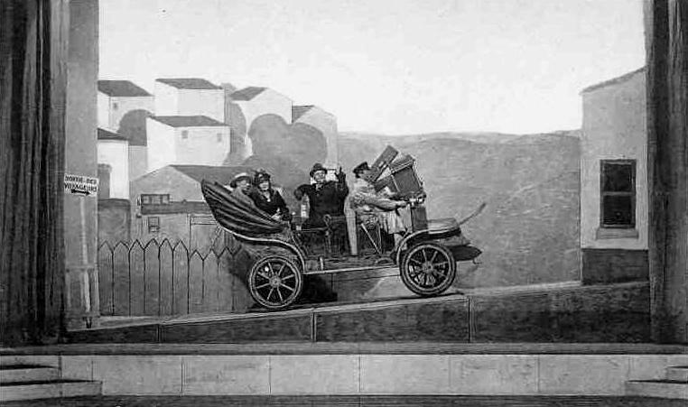 Représentation de Knock ou le Triomphe de la médecine au Théâtre du Marais à Bruxelles en 1924