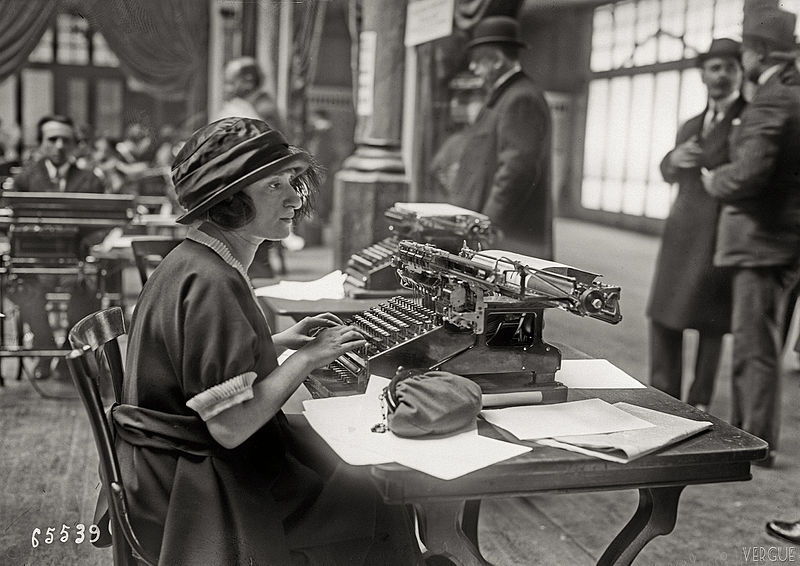 Concours de machines à calculer en 1921 (wikimedia)